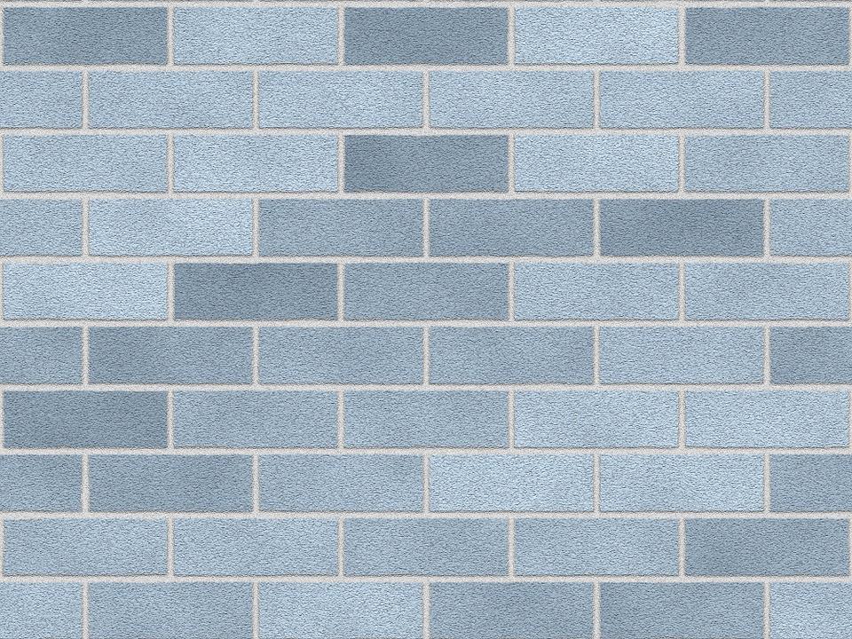 šedá zeď