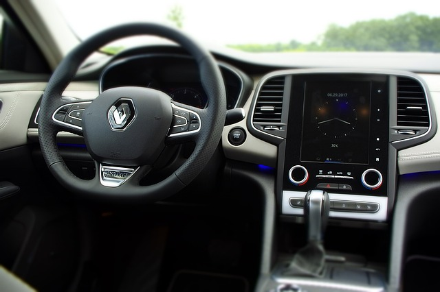 interiér Renault