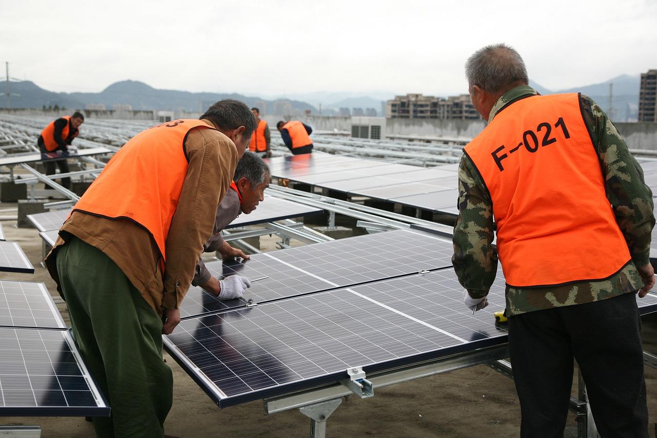 montáž fotovoltaiky